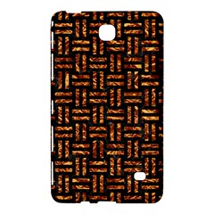 Woven1 Black Marble & Copper Foil Samsung Galaxy Tab 4 (7 ) Hardshell Case