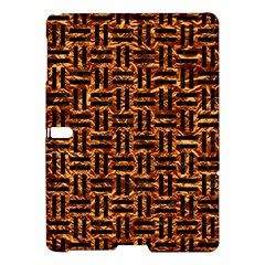 Woven1 Black Marble & Copper Foil (r) Samsung Galaxy Tab S (10 5 ) Hardshell Case