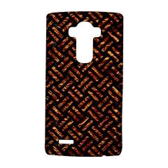Woven2 Black Marble & Copper Foil Lg G4 Hardshell Case