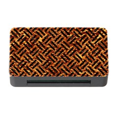 Woven2 Black Marble & Copper Foil (r) Memory Card Reader With Cf