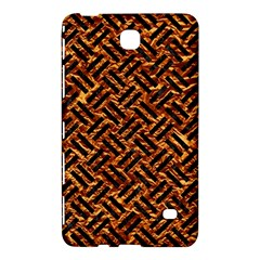 Woven2 Black Marble & Copper Foil (r) Samsung Galaxy Tab 4 (7 ) Hardshell Case