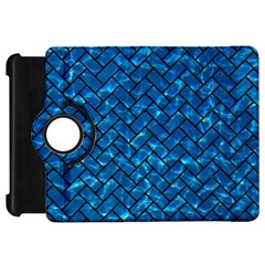 Brick2 Black Marble & Deep Blue Water (r) Kindle Fire Hd 7