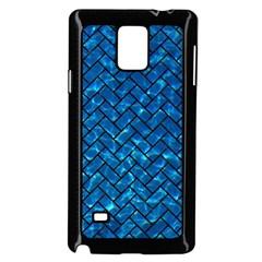 Brick2 Black Marble & Deep Blue Water (r) Samsung Galaxy Note 4 Case (black)