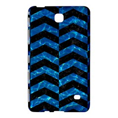 Chevron2 Black Marble & Deep Blue Water Samsung Galaxy Tab 4 (7 ) Hardshell Case