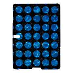 Circles1 Black Marble & Deep Blue Water Samsung Galaxy Tab S (10 5 ) Hardshell Case