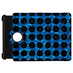 Circles1 Black Marble & Deep Blue Water (r) Kindle Fire Hd 7