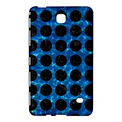 Circles1 Black Marble & Deep Blue Water (r) Samsung Galaxy Tab 4 (7 ) Hardshell Case