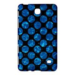 Circles2 Black Marble & Deep Blue Water Samsung Galaxy Tab 4 (7 ) Hardshell Case