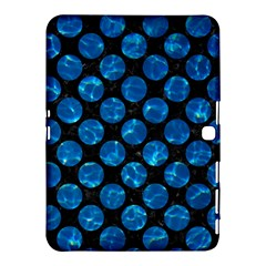 Circles2 Black Marble & Deep Blue Water Samsung Galaxy Tab 4 (10 1 ) Hardshell Case