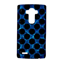 Circles2 Black Marble & Deep Blue Water (r) Lg G4 Hardshell Case