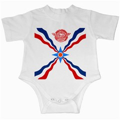 Assyrian Flag  Infant Creepers