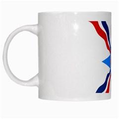 Assyrian Flag  White Mugs