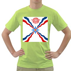 Assyrian Flag  Green T Shirt