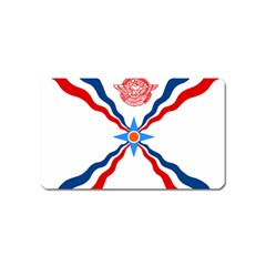 Assyrian Flag  Magnet (name Card)