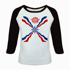 Assyrian Flag  Kids Baseball Jerseys