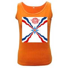 Assyrian Flag  Women s Dark Tank Top