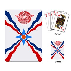 Assyrian Flag  Playing Card