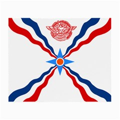 Assyrian Flag  Small Glasses Cloth (2 Side)