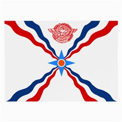 Assyrian Flag  Large Glasses Cloth