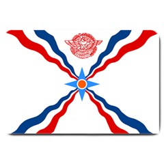 Assyrian Flag  Large Doormat