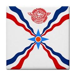 Assyrian Flag  Face Towel