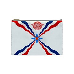 Assyrian Flag  Cosmetic Bag (medium)