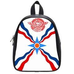 Assyrian Flag  School Bag (small)