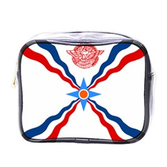 Assyrian Flag  Mini Toiletries Bags