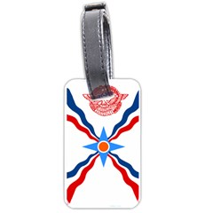 Assyrian Flag  Luggage Tags (two Sides)