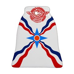 Assyrian Flag  Bell Ornament (two Sides)