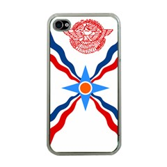 Assyrian Flag  Apple Iphone 4 Case (clear)