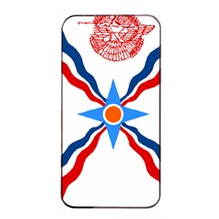 Assyrian Flag  Apple Iphone 4/4s Seamless Case (black)