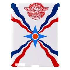 Assyrian Flag  Apple Ipad 3/4 Hardshell Case (compatible With Smart Cover)