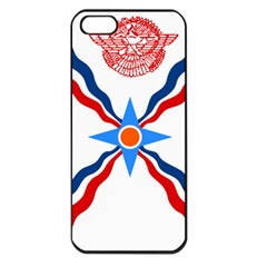 Assyrian Flag  Apple Iphone 5 Seamless Case (black)