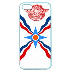 Assyrian Flag  Apple Seamless Iphone 5 Case (color)