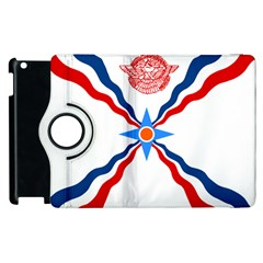 Assyrian Flag  Apple Ipad 2 Flip 360 Case