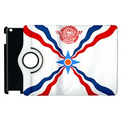 Assyrian Flag  Apple Ipad 3/4 Flip 360 Case