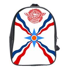 Assyrian Flag  School Bag (xl)