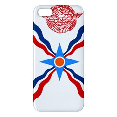 Assyrian Flag  Apple Iphone 5 Premium Hardshell Case