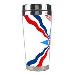 Assyrian Flag  Stainless Steel Travel Tumblers