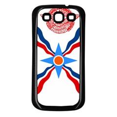 Assyrian Flag  Samsung Galaxy S3 Back Case (black)