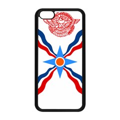 Assyrian Flag  Apple Iphone 5c Seamless Case (black)