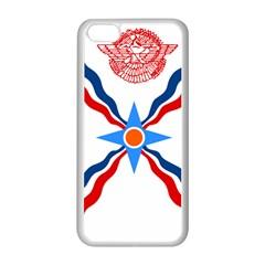 Assyrian Flag  Apple Iphone 5c Seamless Case (white)