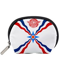 Assyrian Flag  Accessory Pouches (small)