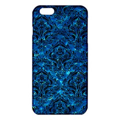 Damask1 Black Marble & Deep Blue Water (r) Iphone 6 Plus/6s Plus Tpu Case