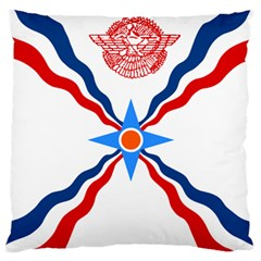 Assyrian Flag  Standard Flano Cushion Case (two Sides)