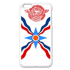 Assyrian Flag  Apple Iphone 6 Plus/6s Plus Enamel White Case