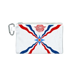 Assyrian Flag  Canvas Cosmetic Bag (s)