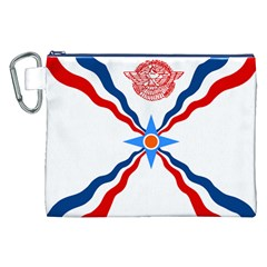 Assyrian Flag  Canvas Cosmetic Bag (xxl)
