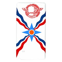 Assyrian Flag  Galaxy Note 4 Back Case